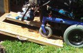 Rampes de fauteuil roulant portatifs