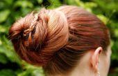 Comment faire une échelle tresse chignon coiffure
