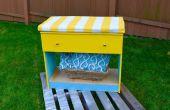 Restaurer la beauté bricolage : bricolage une vieille commode en banc de rangement jolie