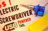 Comment faire des tournevis électrique alimentation Usb outil de Micro Servo moins de 6$ !