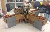 Autonome, le carton, Rasberry Pi contrôlée QuadCopter