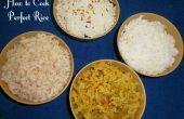 Comment faire cuire le riz parfait - (4 Techniques)