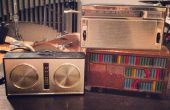 Boîte à musique Arduino à l'intérieur d'une radio vintage