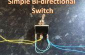 Simple commutateur bi-directionnel
