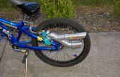 Faire un silencieux/tuyau d'échappement pour votre vélo.