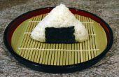 Comment faire un Onigiri (boule de riz)