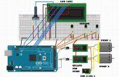 Eau chaude solaire contrôleur avec arduino mega et ds18b20 capteur temp