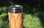 Tasse de voyage en bois