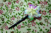 DIY : Sequin fleur en épingle à cheveux/Bobby pin (pseudo-premier-vintage/Victorian!)