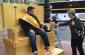 SoulGym : Trône chaise avec ailes