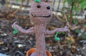 Amigurumi Crochet Dancing Baby Groot de gardiens de la galaxie