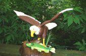 Sculpté à la main les oiseaux