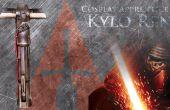 Comment faire un sabre laser - Kylo Ren