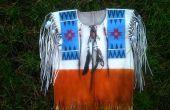 Amérindien « Buck chemise peau »