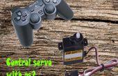 Comment contrôler le servo avec contrôleur de play station 2