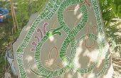 Comment sculpter une pierre runique pour décorer votre yard/jardin