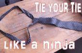 Nouer votre cravate comme un Super Ninja en secondes