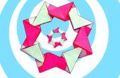 Guirlande Origami modulaire facile (8 unités)