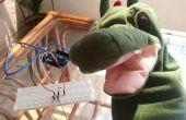 Un jouet enfants mignons qui s'entretient avec Arduino et l'unité:)
