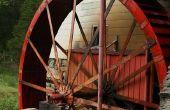 Dans le vieux moulin à Greensboro NC