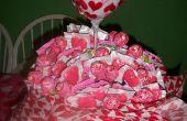 Bouquet sucette Valentin