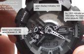 Comment mesurer la vitesse avec une Casio G-shock