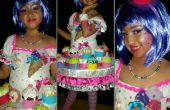 Costume de cupcake Katy perry