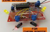 Ligne de capteurs pour les Robots bon marchés
