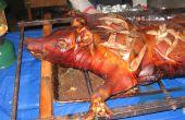 Comment rôtir un cochon entier