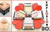 Comment faire une boîte Explosion - DIY Paper Crafts - Exploding cadeau de mariage