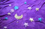 Couverture d'étoiles scintillantes de lent à rapide (à l'aide de plaques conductrices)