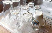 Égouttoir à vaisselle verre/tasse