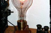 Le géant Edison - une lampe de grande taille Steampunk