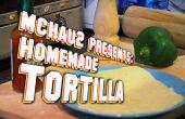 Tortilla maison ! (doux, moelleux)