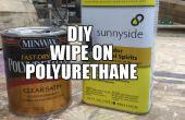 Lingette bricolage sur polyuréthane
