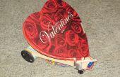 Robot de Valentine distribue des baisers de bonbons à l'aide de Picaxe