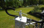 Battement de vélo mascotte, entièrement en 3d imprimée