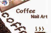 Café Nail Art Design