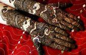 Comment préparer la pâte Mehendi pour Mehendi arabe magnifique dessins