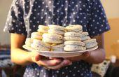 Noir Macarons sésame | Josh Pan