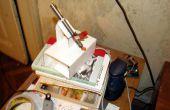 Micro LASER Show avec un mécanisme de lentille CD