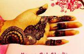 Au henné Mehndi Art : Art de tatouage temporaire