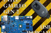 Le streaming Webcam USB avec l'Intel Galileo Gen 2