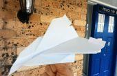 Papier de Concorde qui vole