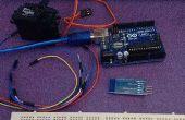 Arduino, MIT app inventor contrôleur de moteur servo