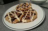 Blanc brisures de chocolat et noix de Macadamia Cookies!!