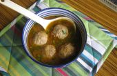 Poulet curry kofta (boulettes de viande) (version sauce)