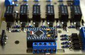Préampli passif Arduino avec télécommande, atténuateur et channel selector