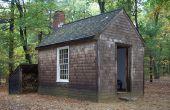 Cabane de Thoreau au loin-grille Design moins 1000 $