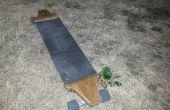 Maison longboard en chêne